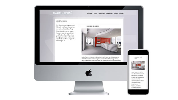 Slideshow Webdesign CMS Wordpress Architekt